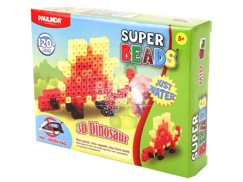 Super Beads 3D dinoszaurusz gyöngykészlet
