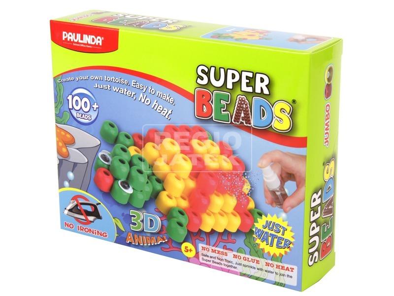 Super Beads 3D teknős gyöngykészlet