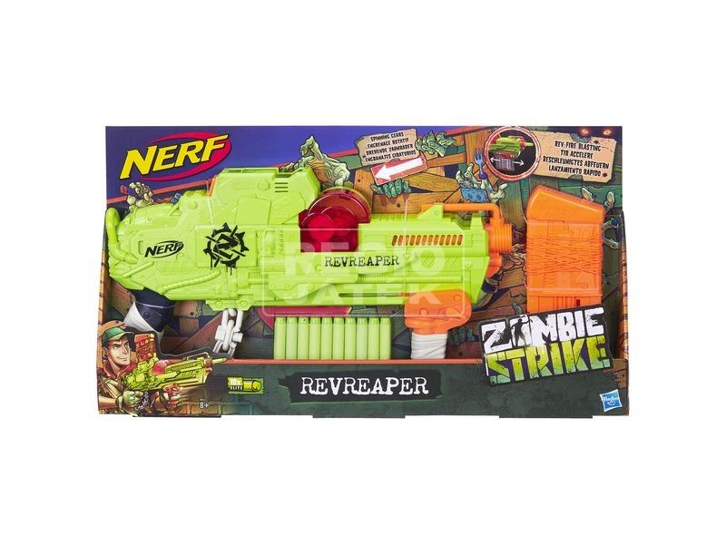 NERF Zombie Strike Revreaper szivacslövő fegyver