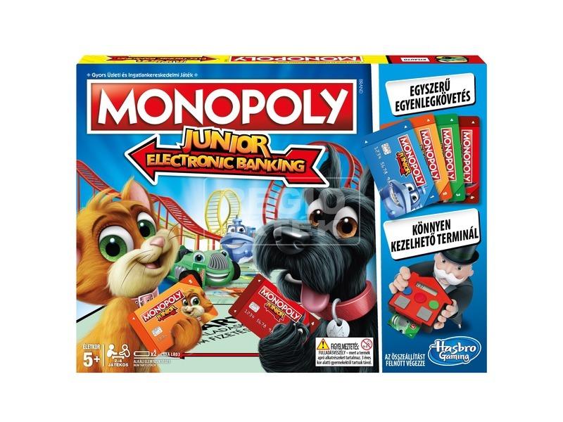 Monopoly Junior bankkártyás társasjáték