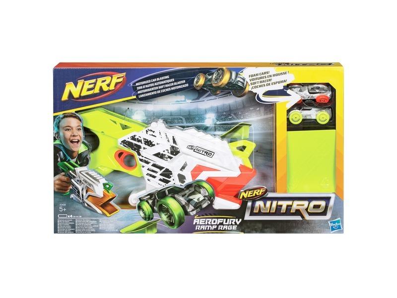 NERF Nitro Aerofury Ramp Rage autókilövő