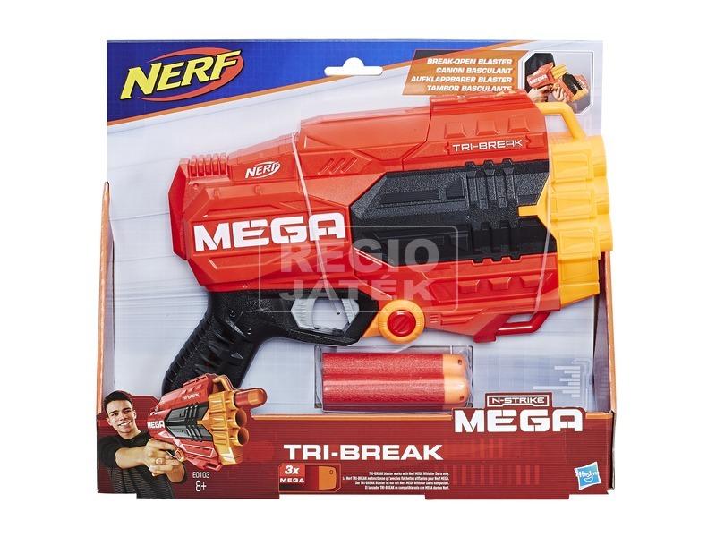 NERF Mega Tri-Break szivacslövő pisztoly