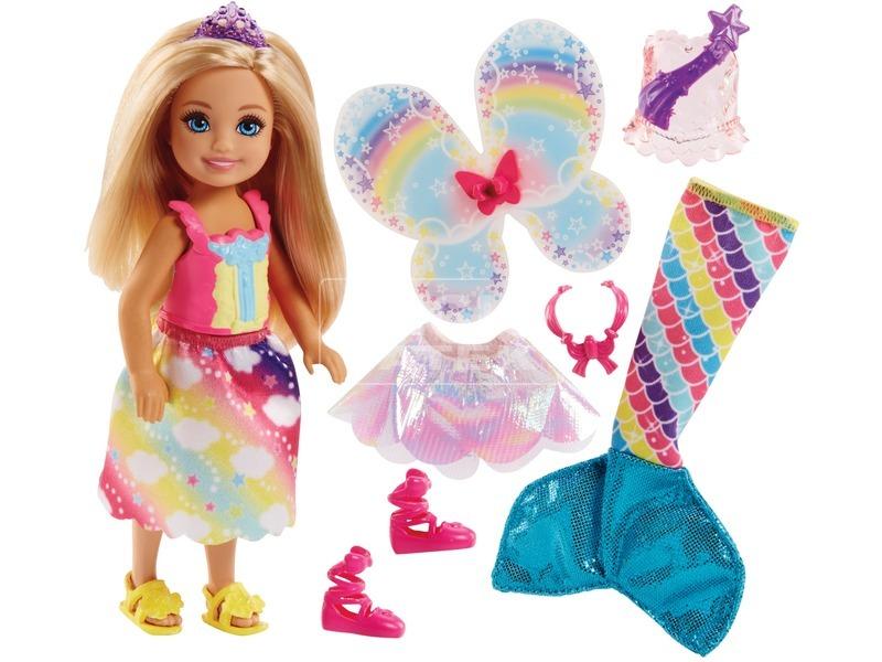 kép nagyítása Barbie: Dreamtopia Chelsea baba - 15 cm, többféle