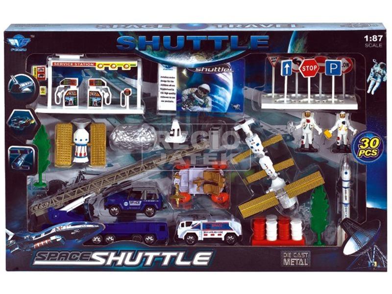 Űrhajós játék 30 darabos készlet - 1:87