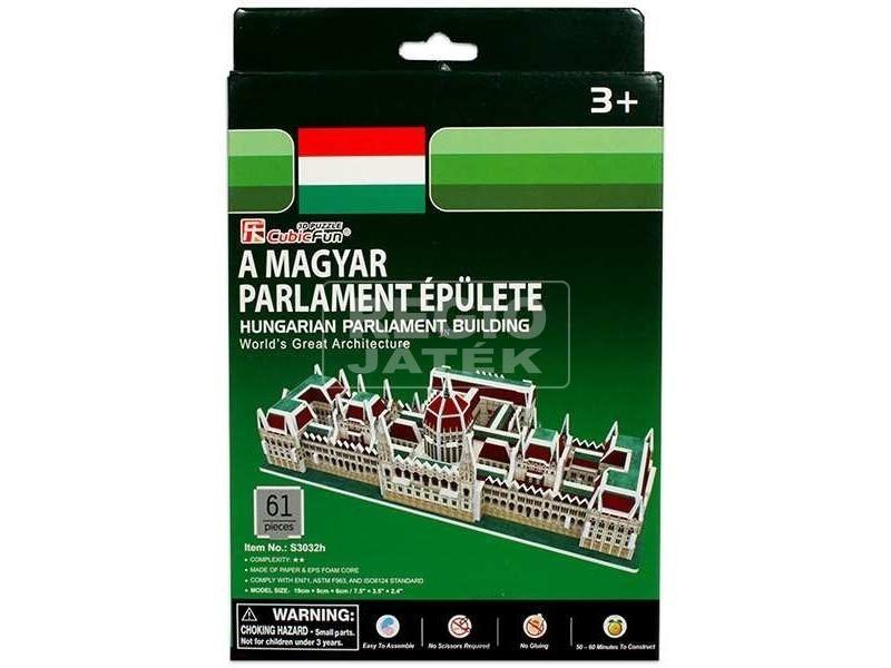 Magyar Parlament épülete 61 darabos 3D puzzle