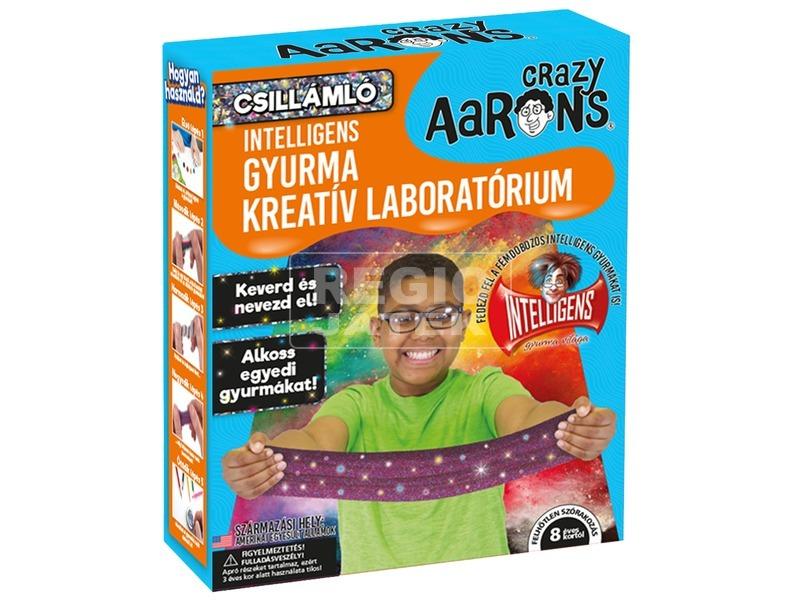 Intelligens gyurma - csillogó kreatív laboratórium