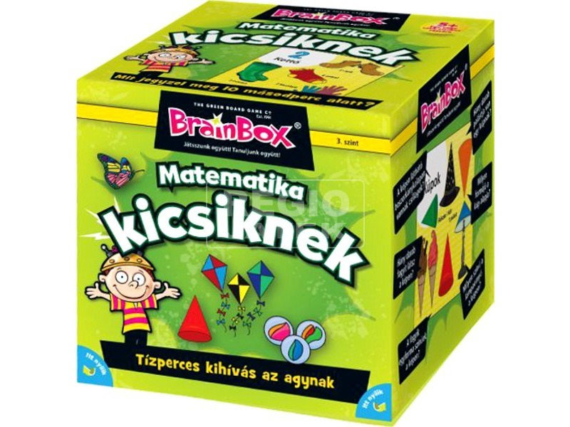 BrainBox - Matematika kicsiknek társasjáték