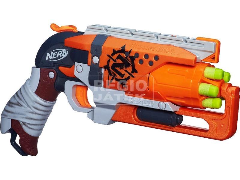 kép nagyítása NERF Zombiestrike Hammershot szivacslövő fegyver