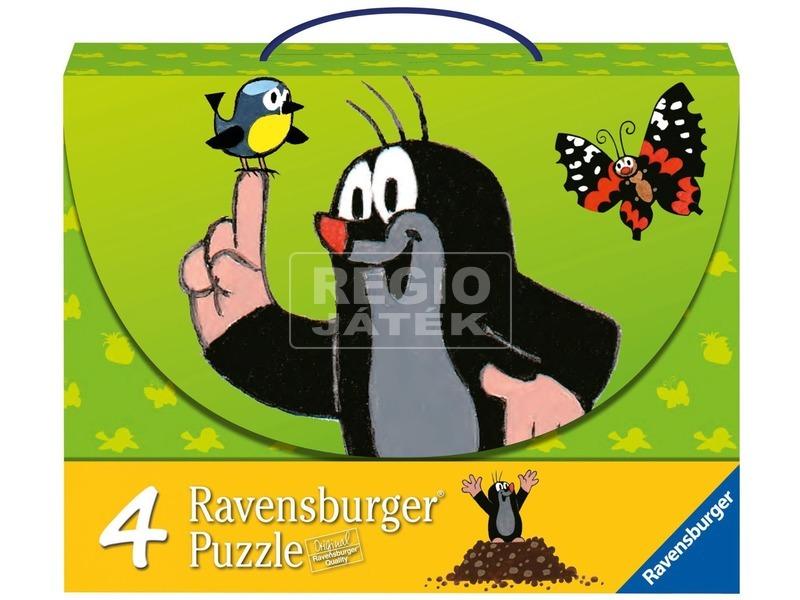 Kisvakond 2 x 25 és 2 x 36 darabos puzzle