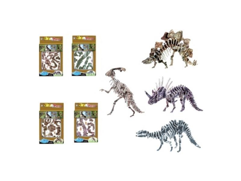 Dinoszaurusz 3D puzzle - többféle