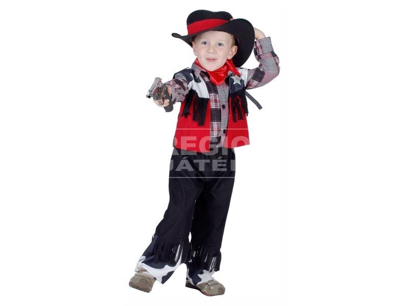 Cowboy jelmez - 92-104-es méret