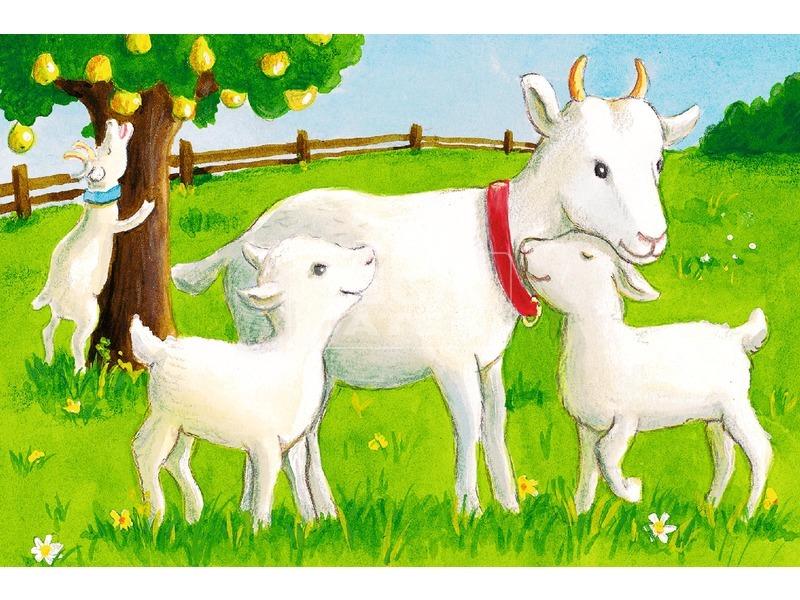 kép nagyítása Mesekocka 6 db - Tanyasi állatok