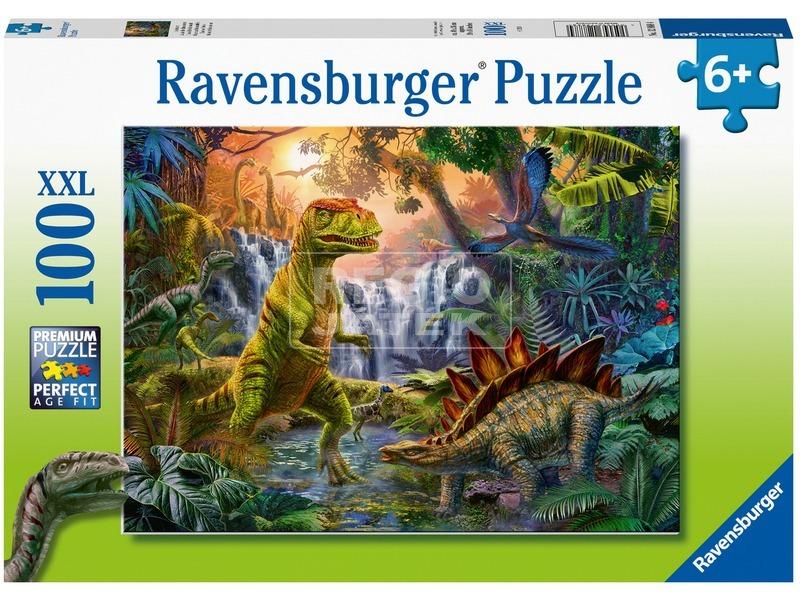 Dínó oázis 100 darabos puzzle