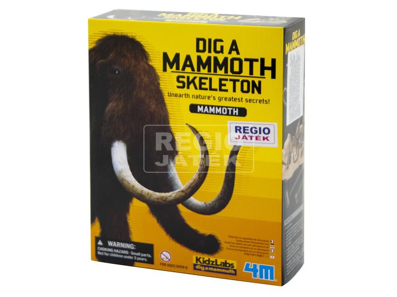 4M őslény régész készlet - mamut