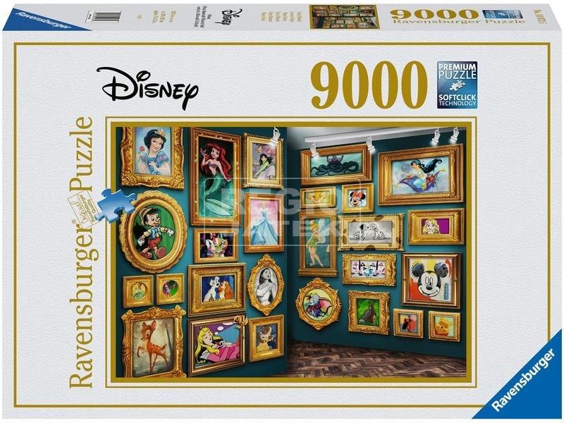 Puzzle 9 000 db - Disney múzeum