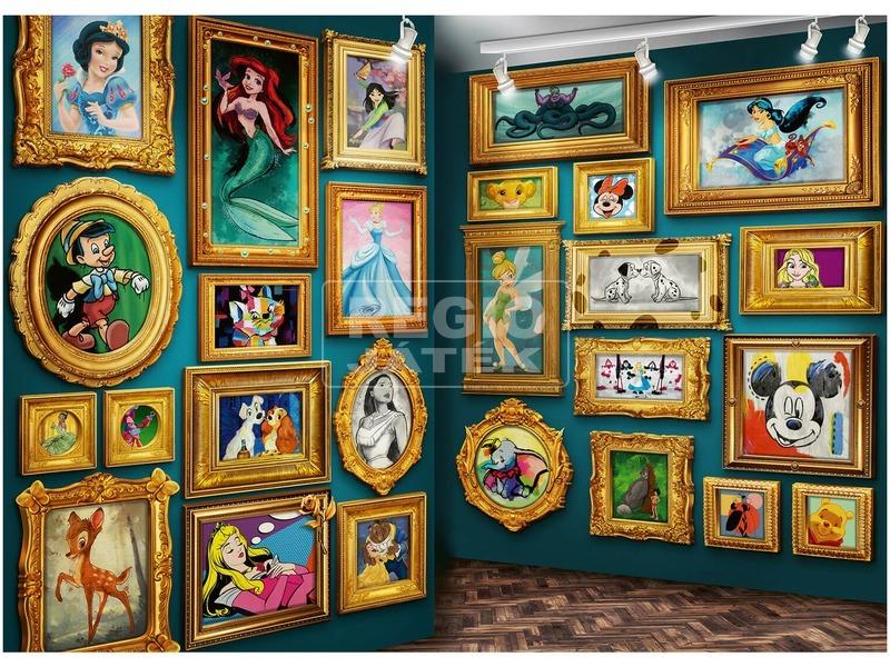 kép nagyítása Puzzle 9 000 db - Disney múzeum