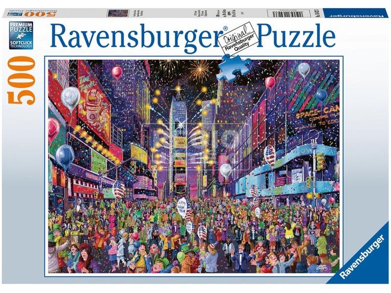 Puzzle 500 db - Times Square Szilveszter