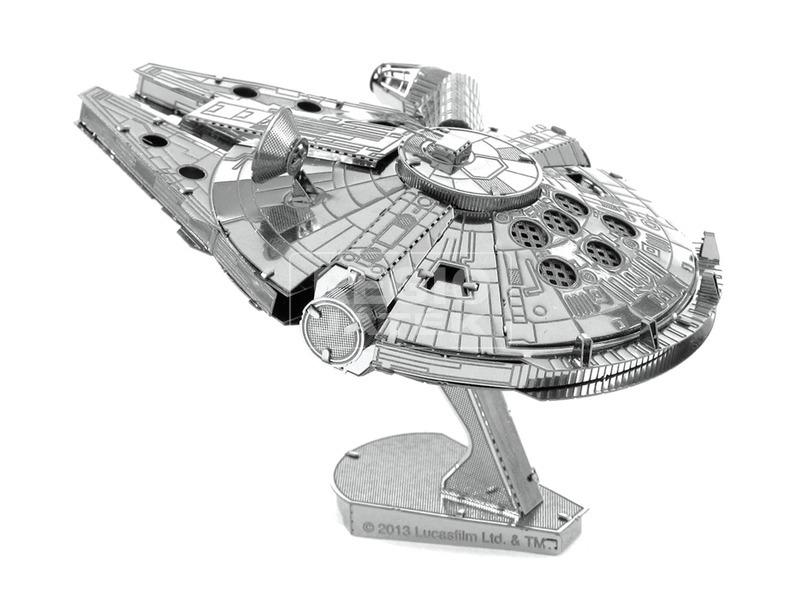 Metal Earth Star Wars Millenium Falcon modell