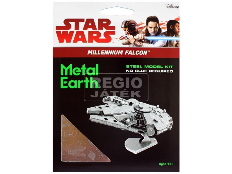 kép nagyítása Metal Earth Star Wars Millenium Falcon modell