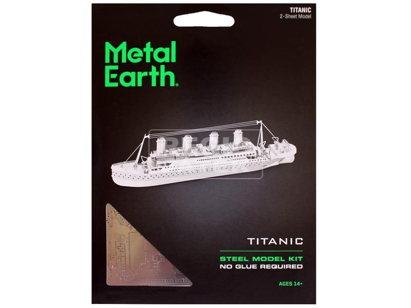 kép nagyítása Metal Earth Titanic hajó modell