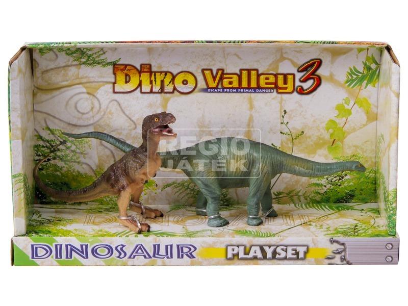 Dinoszaurusz 2 darabos készlet - 12 és 21 cm