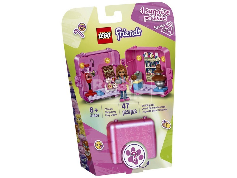LEGO® Friends Olivia shopping dobozkája 41407