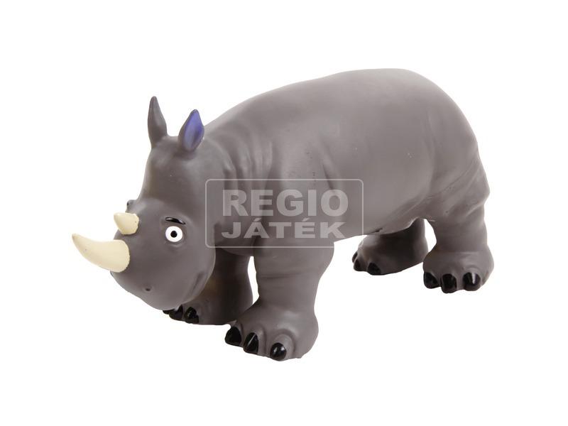Orrszarvú műanyag figura - 20 cm