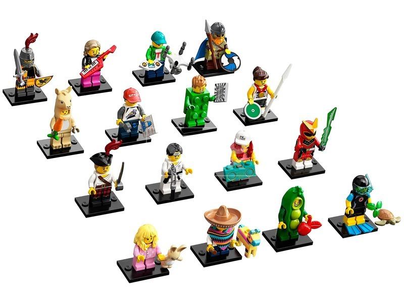 kép nagyítása LEGO Minifigura 71027 20. széria