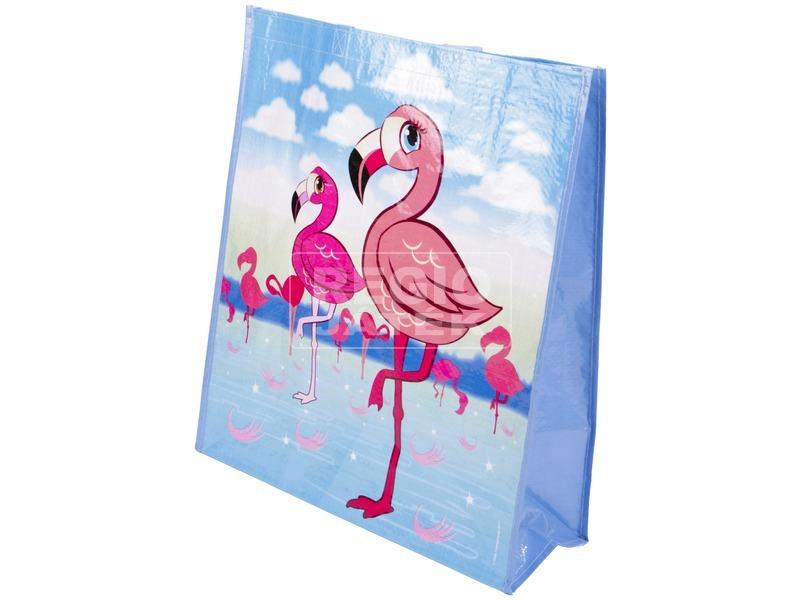 Flamingós bevásárlótáska 40, 5x46x15 cm