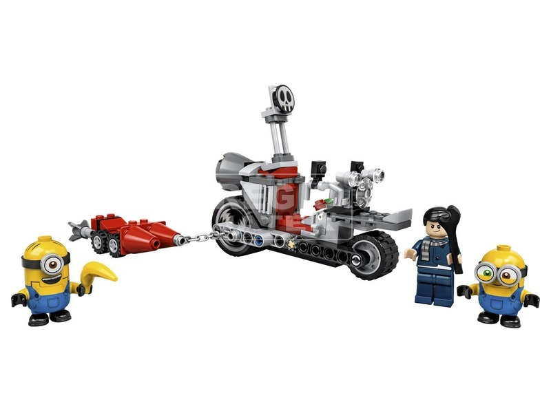 kép nagyítása LEGO® Minyonok Megállíthatatlan motoros üldözés 75549