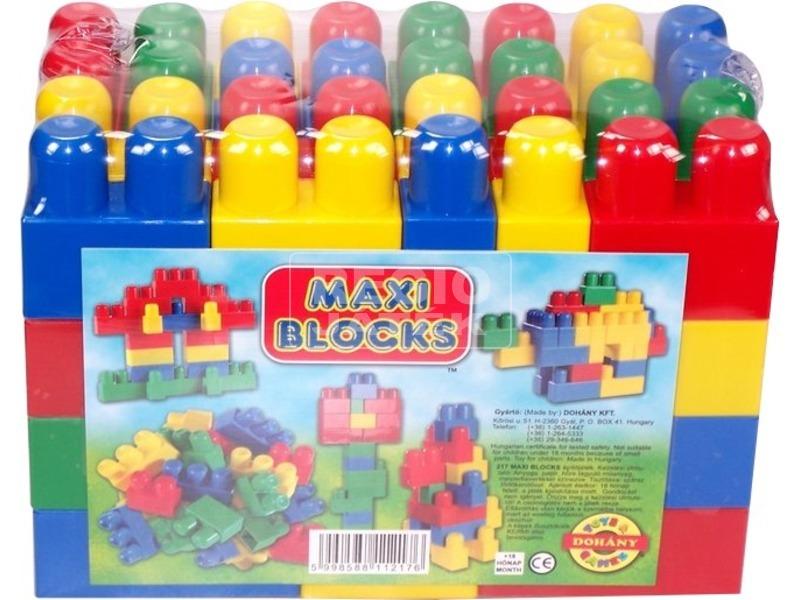 Maxi Blocks 60 darabos építőkocka készlet