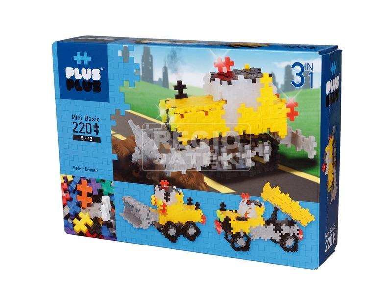 PlusPlus útépítés 220 darabos építőjáték