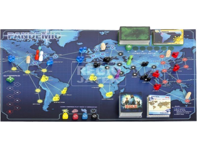 kép nagyítása Pandemic társasjáték