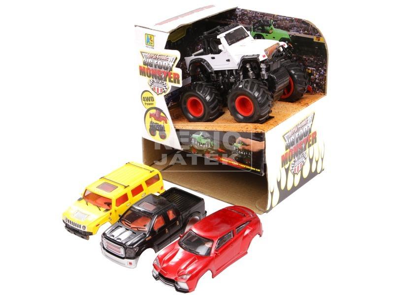 kép nagyítása Big Foot autó több külsővel - 11 cm, többféle