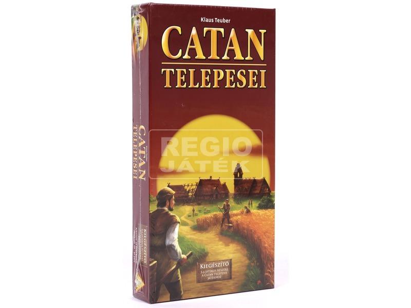 Catan telepesei: Kiegészítő 5-6 főre