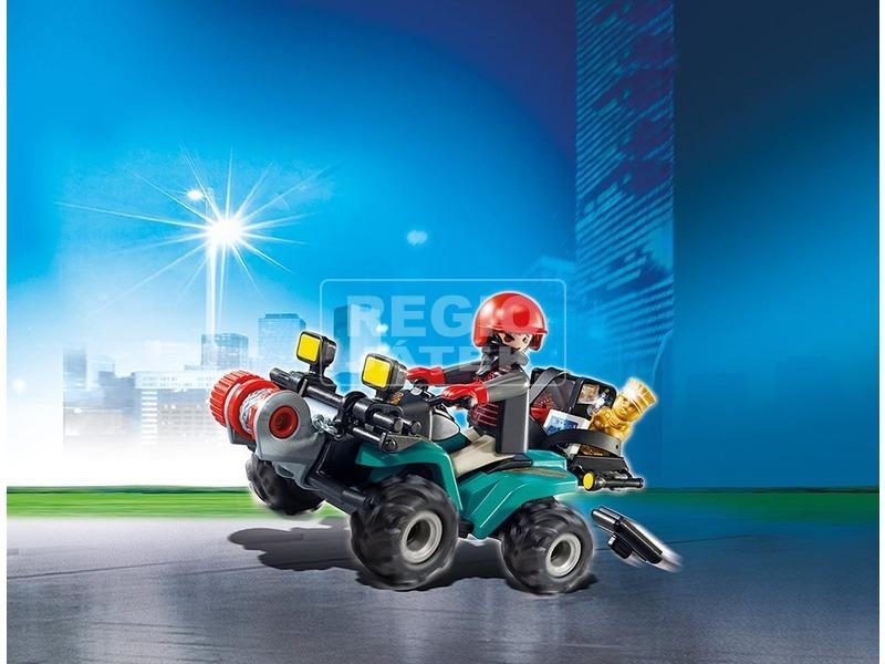 kép nagyítása Playmobil Műkincsrabló és quad készlet 6879