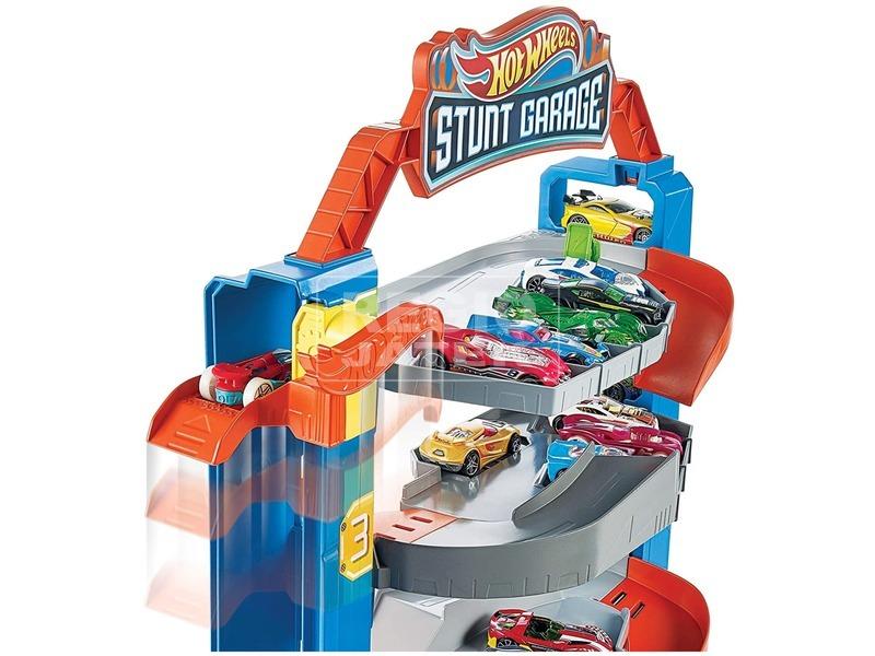 kép nagyítása Hot Wheels trükkös garázs