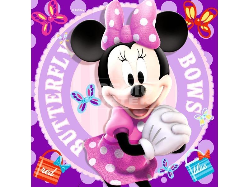 kép nagyítása Minnie egér 25, 36 és 49 darabos puzzle