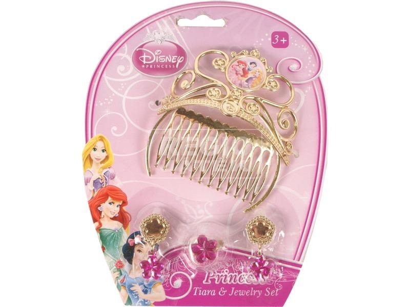 Disney hercegnők fejdísz - aranyszínű