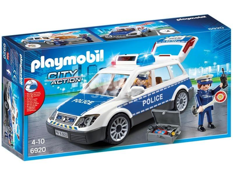 Playmobil Szolgálati rendőrautó 6920