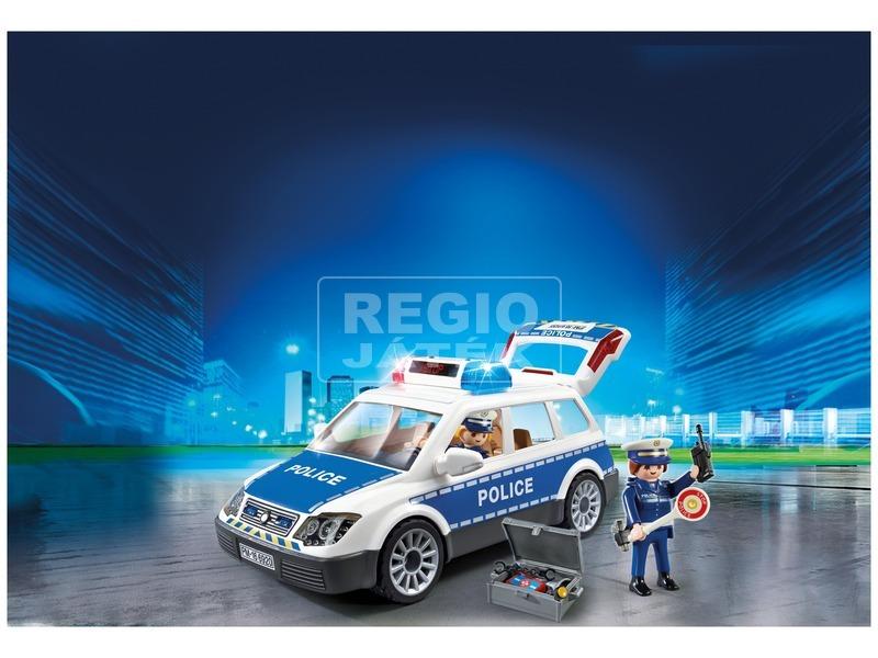 kép nagyítása Playmobil Szolgálati rendőrautó 6920
