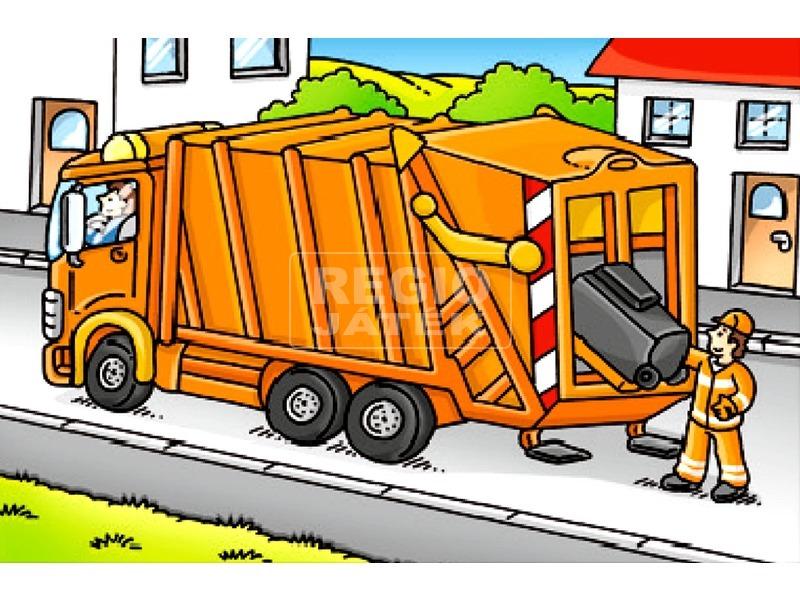 kép nagyítása Járművek 6 darabos mesekocka
