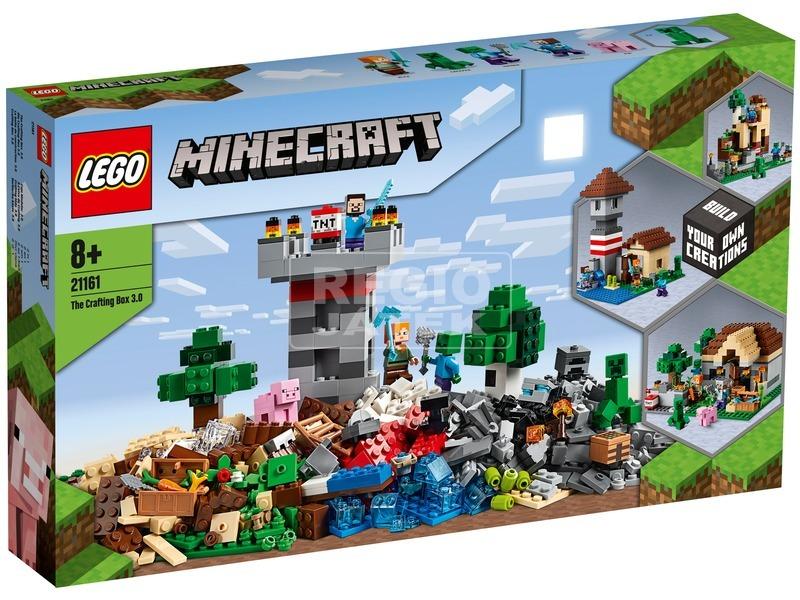 LEGO® Minecraft™ Crafting láda 3. 0 21161