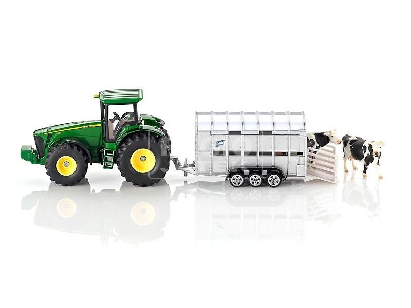 SIKU: John Deere 8430 állatszállító traktor 1:50 - 1956