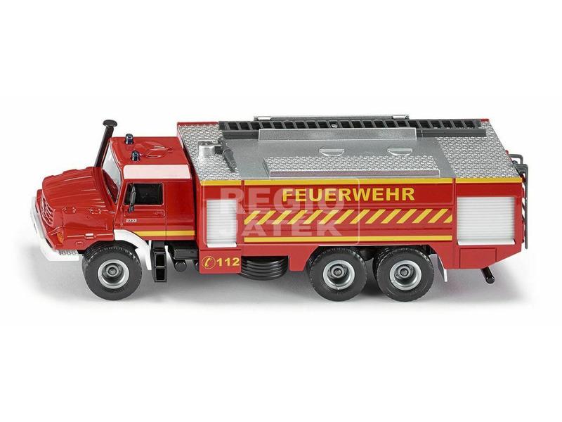 Mercedes-Benz Zetros Fire