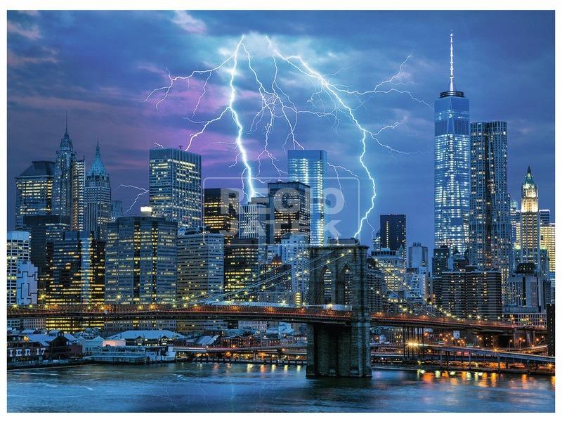 kép nagyítása Villám New York felett 500 darabos puzzle