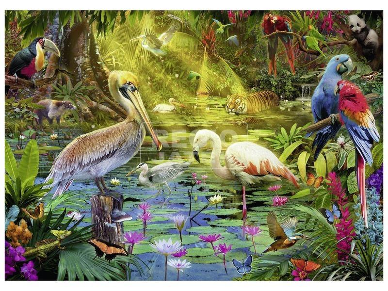 kép nagyítása Madarak paradicsoma 1000 darabos puzzle