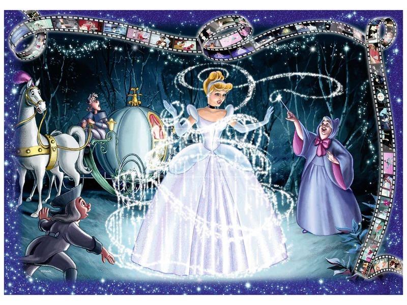kép nagyítása Disney hercegnők Hamupipőke 1000 darabos puzzle