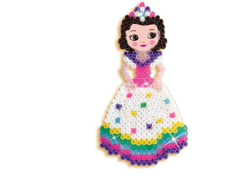 kép nagyítása Unikornisok és hercegnők vasalható gyöngy készlet