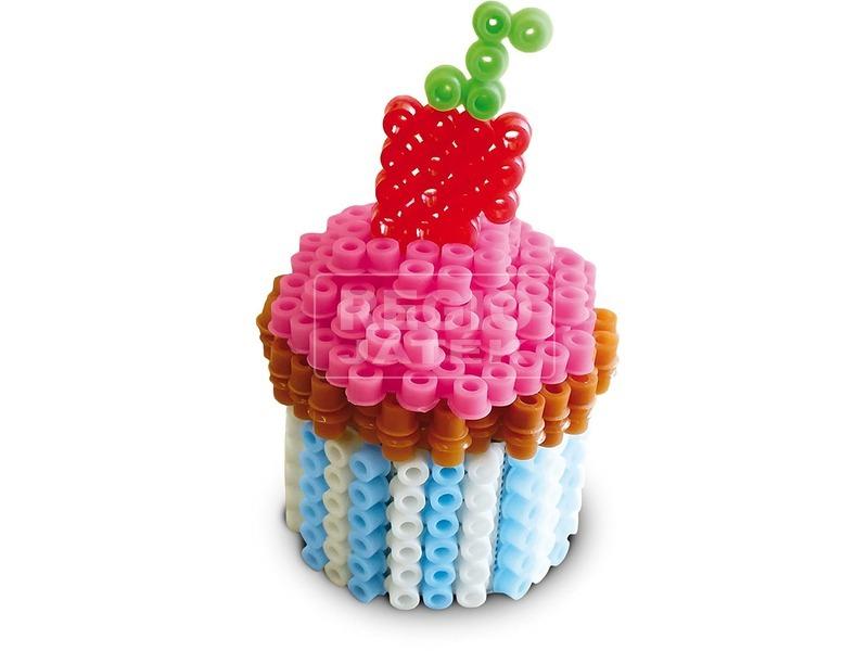 kép nagyítása 3D sütik vasalható gyöngy készlet